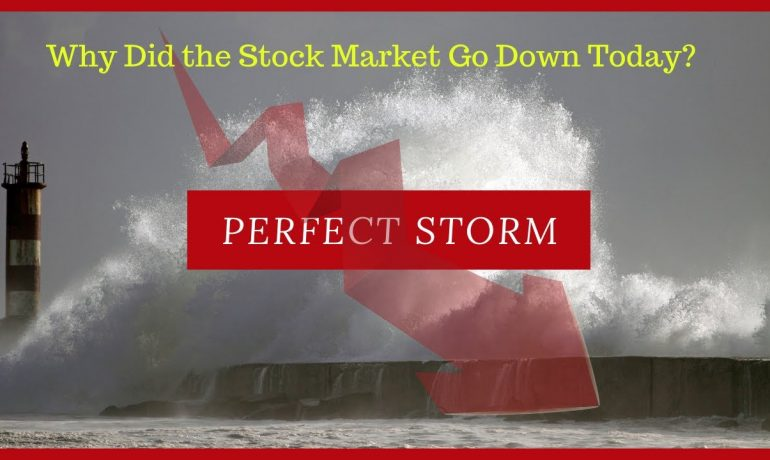 Why Did the Stock Market Go Down Today? Plus My Best Trade!