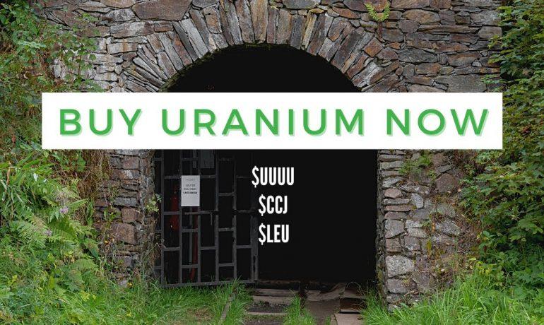 Buy Uranium Now | Options Trading Uranium | $CCJ, $UUUU, $LEU