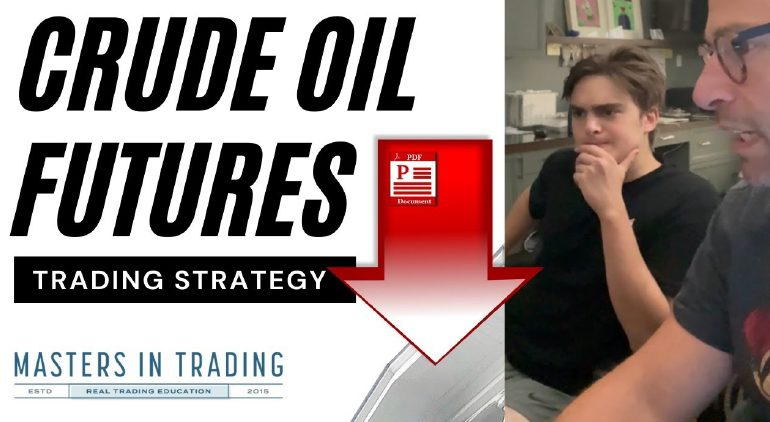 Crude Oil Futures Trading Lesson | Advanced Trading Strategies $/CL $OIL $VIX